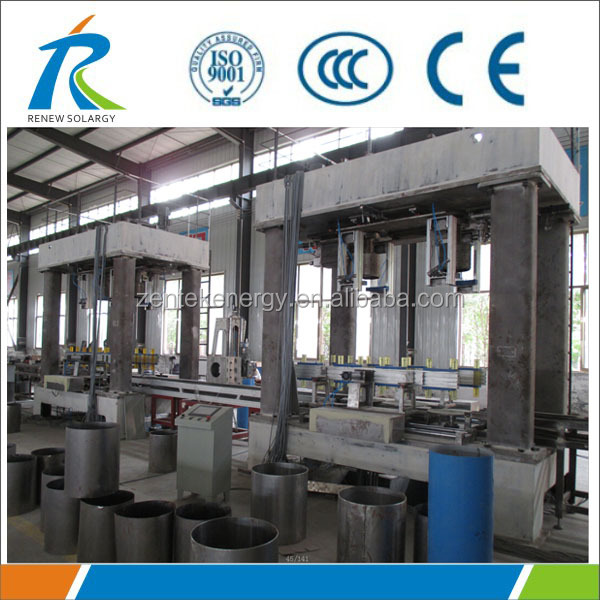 Outer Tank Auto Inward Bending Machine for Carbon steel Electric Water Heater Production