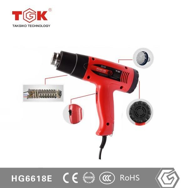 Constant Heat Sealer Hot Air Gun for Heat Shrink PVC