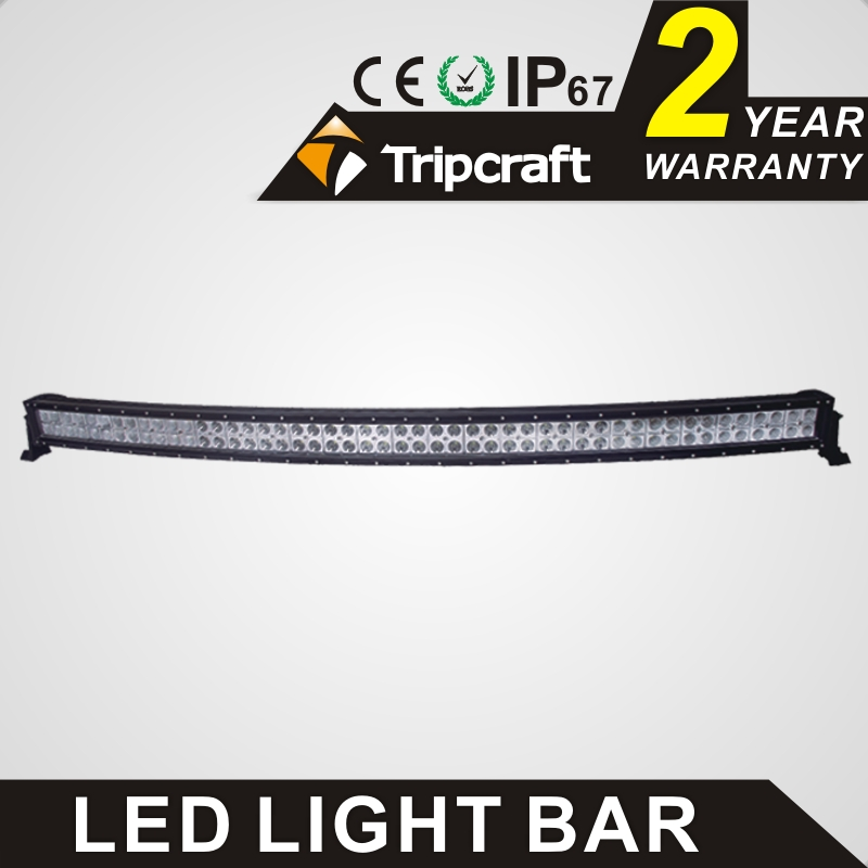 "Factory direct 4x4 accessory Wholesale cheap led offroad light bar 288w 50"" <strong>c</strong>.<strong>r</strong>.e.e curved led light bar"