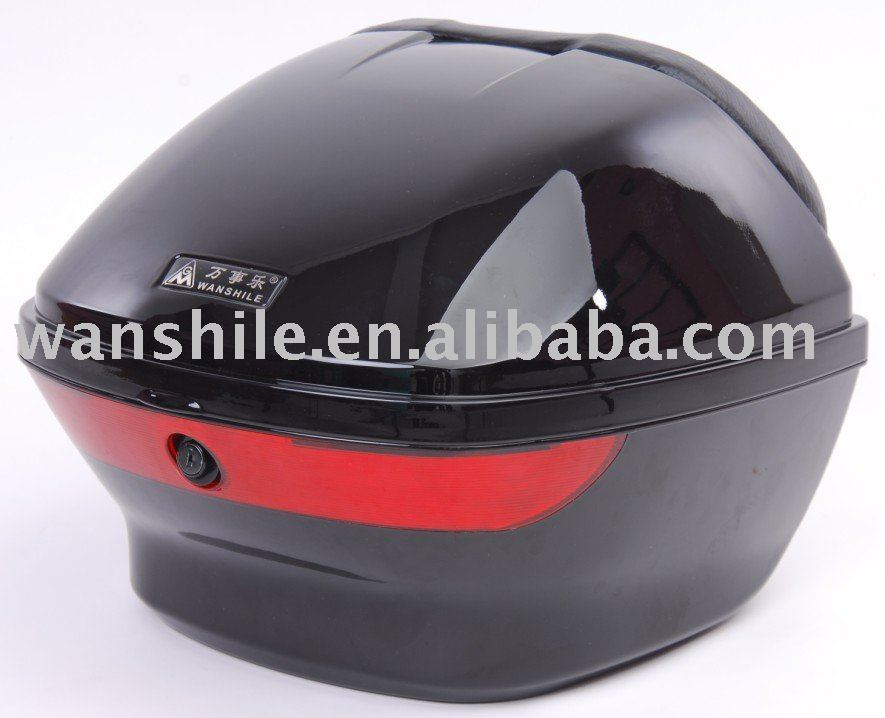 light weight lacquer motorcycle rear box