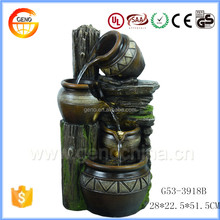 Trade assurance resin crafts Outdoor decorative water fountain