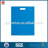 Eco Friendly Clear gift wrapping plastic bags/shopping Bag