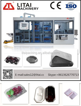 hot sell Plastic Vacuum Thermoforming Machine/Plastic Tray Vacuum Forming Machine