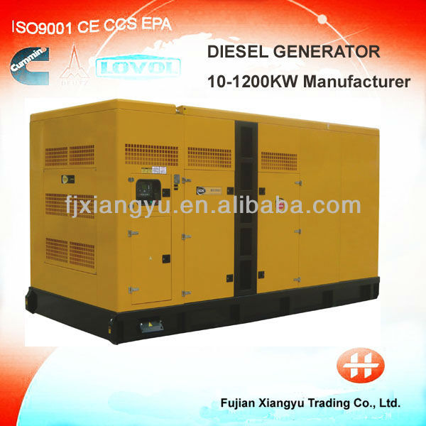 Diesel generator set with High Quality 2-50KW STC series three phase Generator