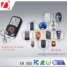 AGRADABLE, BFT, DEA, APRIMATIC, <span class=keywords><strong>FAAC</strong></span> 12 marcas rolling code reemplazo garage door control remoto