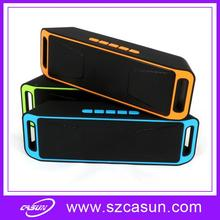 OEM/ODM available portable mini speaker with fm radio For smartphone cell phone