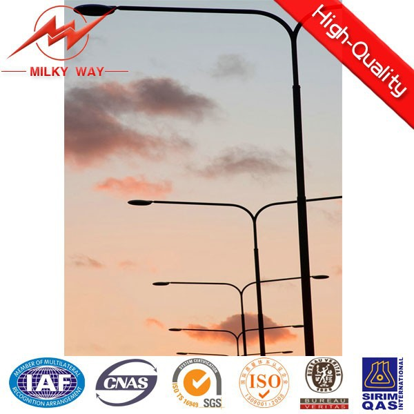 double arm outdoor lighting 50 watt led street light newest design in china