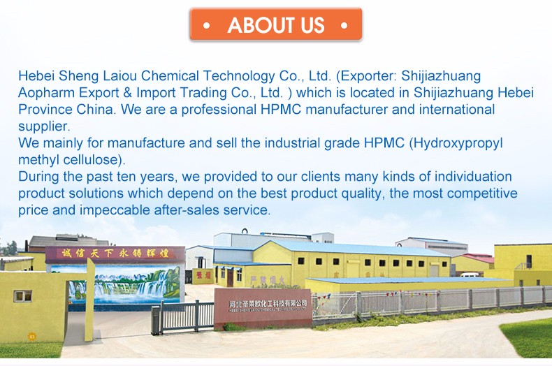 Construction grade of HPMC for ceramic tile
