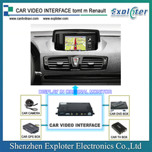 TomTo system RENAULT video interface