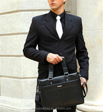 High quality business laptop bags genuine leather bags men