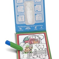 Magic Water Drawing Book Reusable Coloring