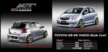 Car Body Kit TOYOTA-08-09 - YARIS - COOL Style - Front bumper & Side skirts