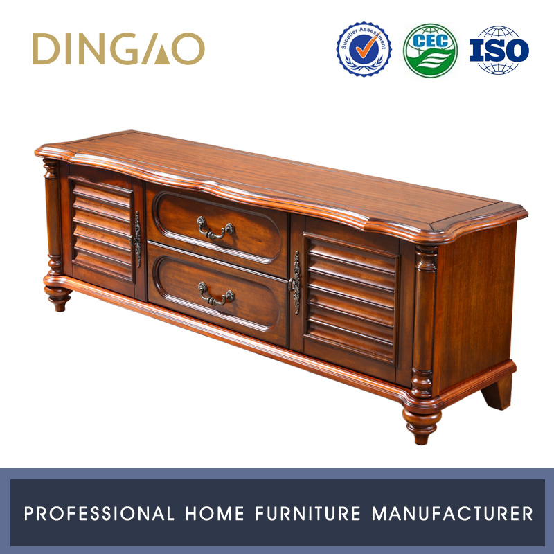 Living Room Furniture Lcd Tv Cabinet With Drawers Storage