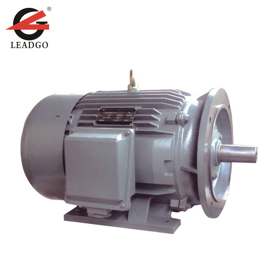 5.5kW~90kW 3 Phase Electric AC Motor for Injection Molding Machine