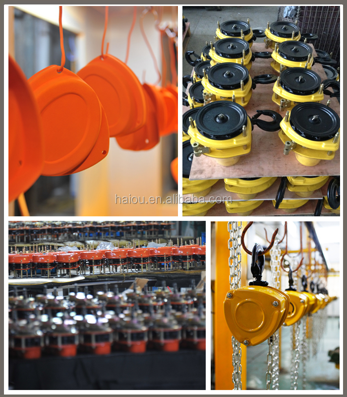 HSZ-B type tuv CE approved 5 ton manual chain block hoist