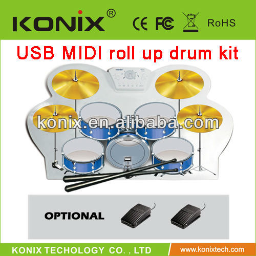 colorful silicone roland electronic drums