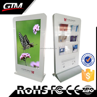 55 Inch Ad Player Advertising Display Screen In Retail Store Advertising Video Monitors In Retail Stores