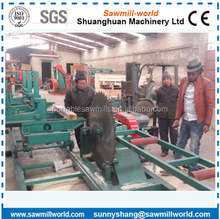 Top Quality Portable Wood Cutting Circular Saw Sawmills With Carriage