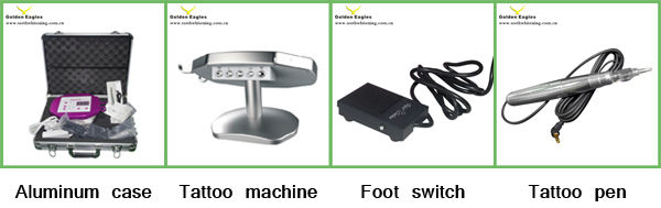 semi permanent makeup machine, digital tattoo controller