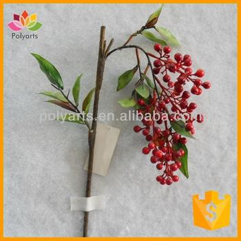"26"" Natural Artificial Berry Spray, Outdoor Berry Spray, Waterproof Berry"