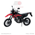 Hondx CRF250M-1 Red