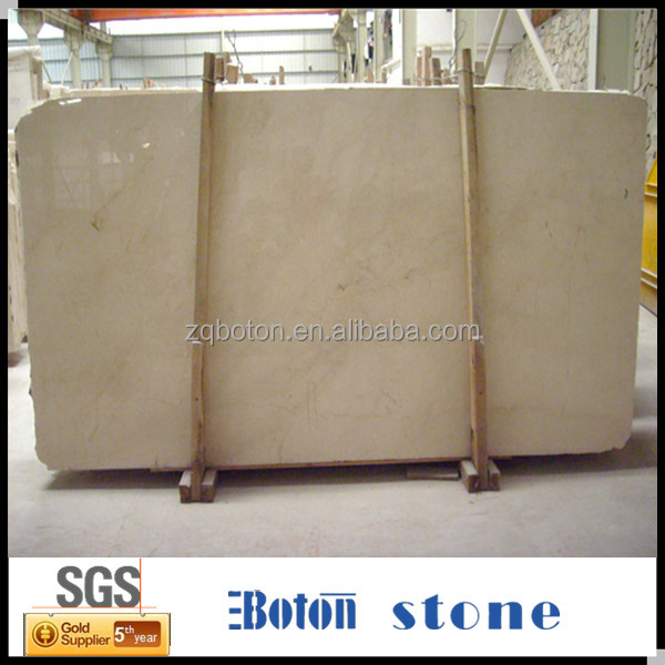 <Boton Stone>Natural Inported Marble Cream Marfil Slab
