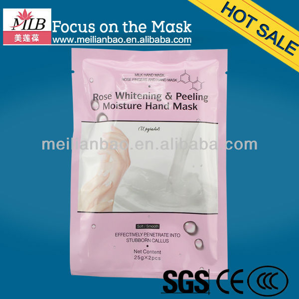 Moisturizing milk pearl collagen crystal hand mask pack