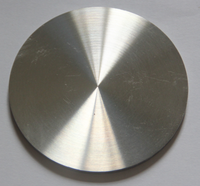 High purity 99.95% Ruthenium metal sputtering target from china manufacture
