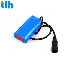 lithium ion cell 18650 battery pack 1S2P 5200maH 3.7 volt lithium ion battery