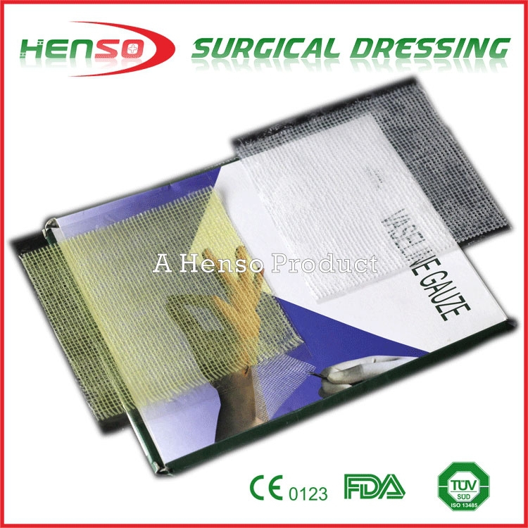 Henso Medical Disposable Sterile Vaseline Gauze Dressing
