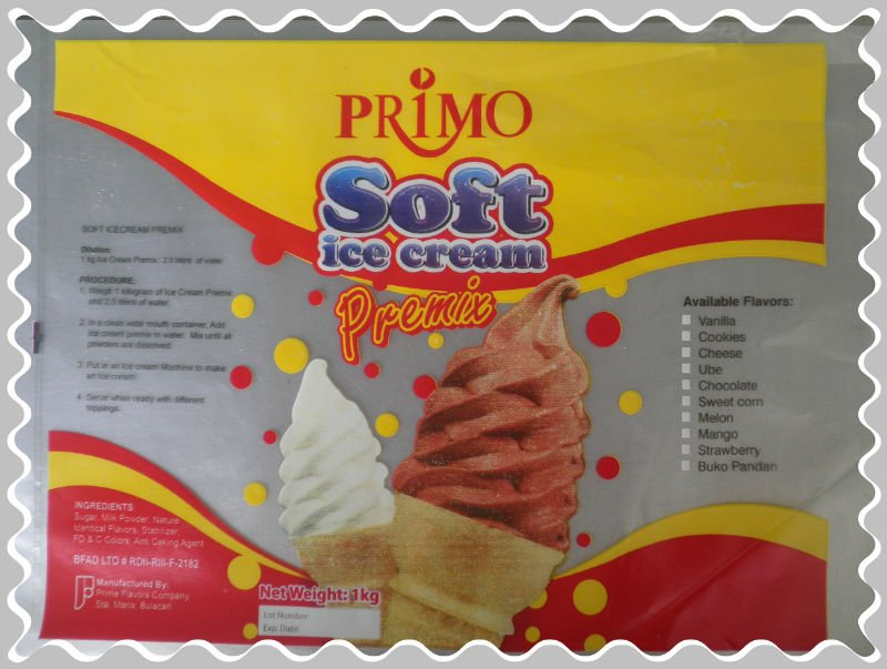 Primo Ice Cream Premixes