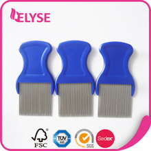 Competitive price fancy head nit metal lice comb