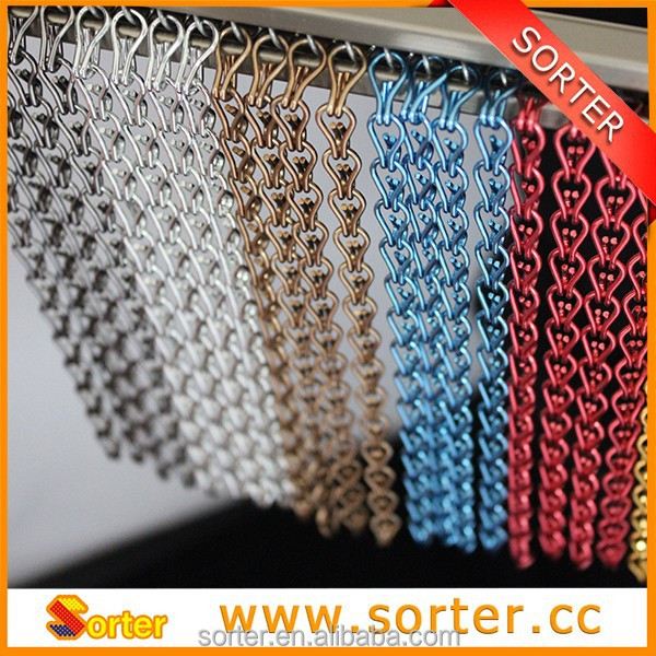 Sorter's Double Jack Chain, Fly Screen and Curtains Design