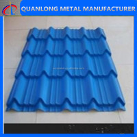 Colored Glazed Tile Roofing Sheets