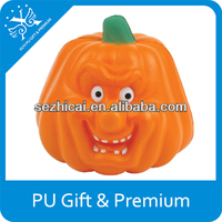 anti-stress toy pu pumpkin pu foam pumpkins for promtion pu stress pumpkin