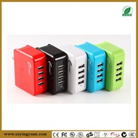 2015 HOT 4 port usb charger for iPhone iPad Samsung Tablets Android