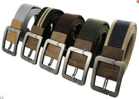Wholesale Heavy Duty Customize Outdoor Sports Military Secure Safety Police Infantry Belt Tactical Men's Military Canvas Belt