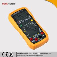 Manual & Auto Range 4000 Counts digital Multimeter with Capacitance Frequency Temperature MS86