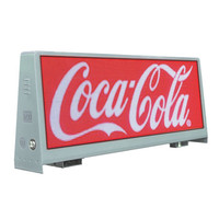 high brightness outdoor advertising display big size led taxi sign