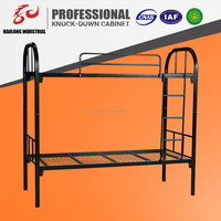 strong and durable metal bed double bunk bed