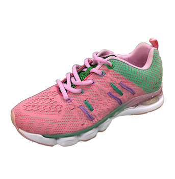 Colorful Air Sports World Wholesale Flykniting Vamp Shoes