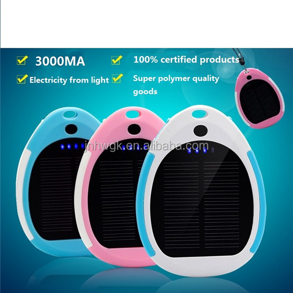 OEM factory wholesale portable battery charger /solar charger