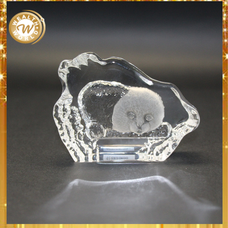 Cheap Profiling Animals Crystal Christening Gift