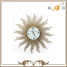 China Supplier Brassy Yellow Cool Description For A Wall Clock
