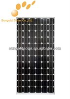 180w sunpower solar panel with high quality cells in china
