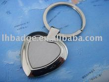 Key chain shaped heart
