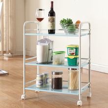 412C 3 Tier Kitchen Tea food trolley room service trolley for home