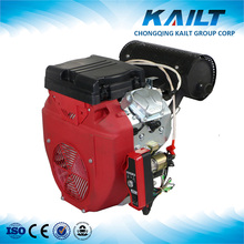 Electric start 20hp v-twin cylinder gasoline engine for general machines
