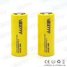 Wholesale 26650 4200mAh lithium ion power battery 26650 rechargeable 3.7V 4200mAh batteries 50A