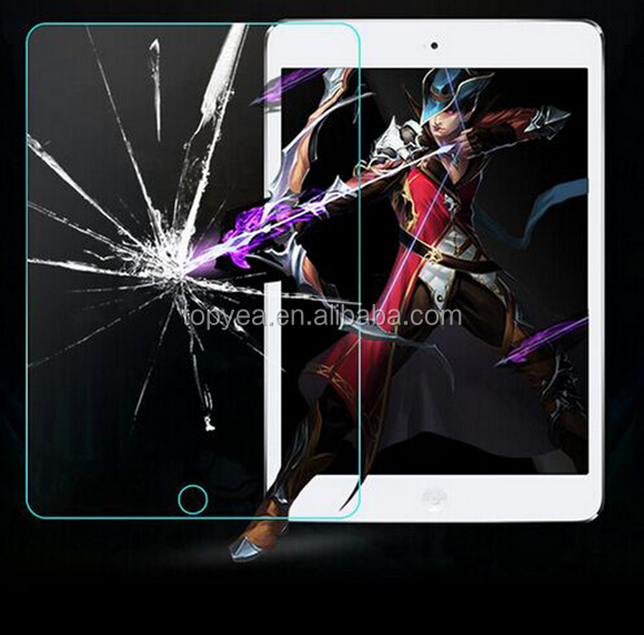 HD Transparent Clear Color Tempered Glass Screen Protector for iPad Mini 2 3